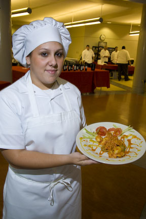 Serving a Plate to the Judges