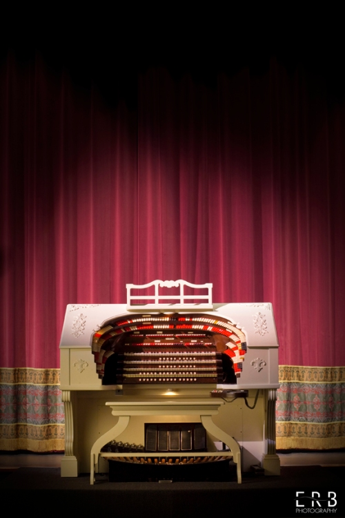 Hanover Theater Organ on Stage
